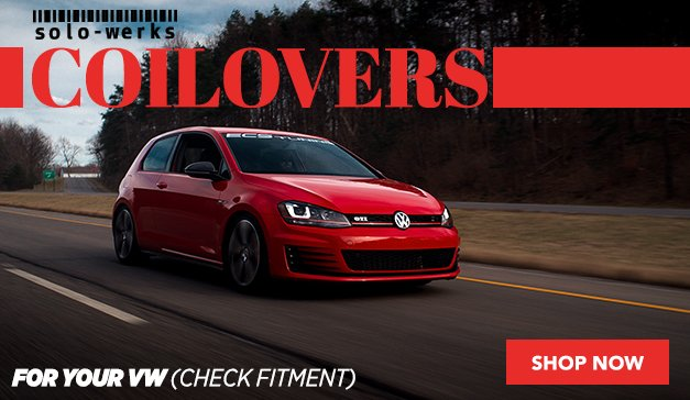 Solo-Werks Coilovers for your VW