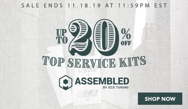 VW - Veterans Day Sale - Up to 20% Off Top Assembled By ECS Kits