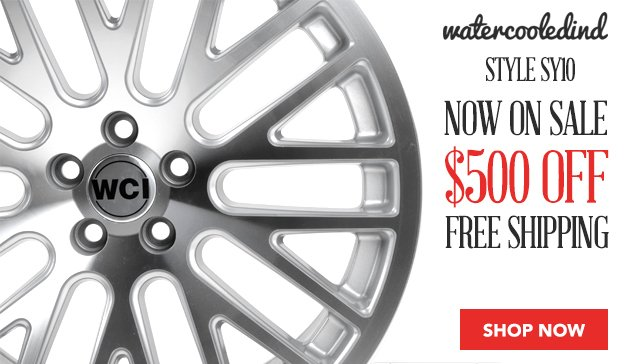 WatercooledIND Cast SY10 Wheels For Your 5x100 VW