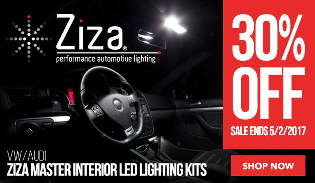 30% off Ziza Master Kits | VW/Audi