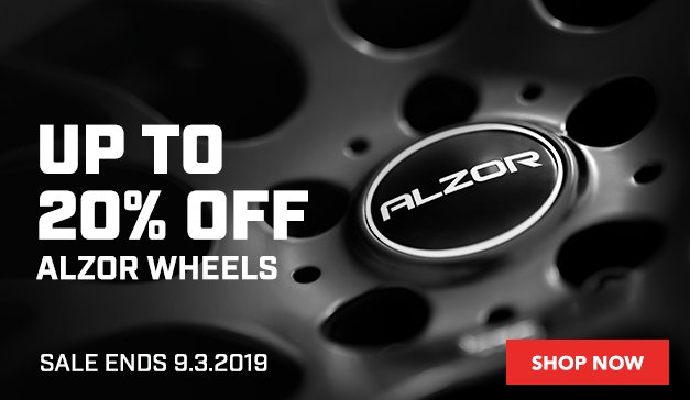 GENERIC - Up to 20% Off ALZOR Wheels