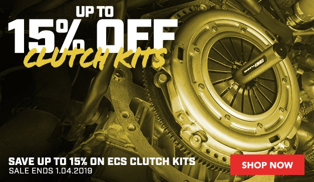 ECS Clutch Kits - Up to 15% Off