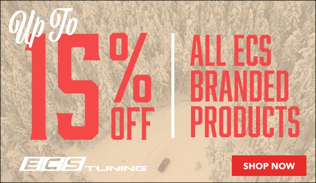 Holiday Sale - Up to 15% Off ECS Parts