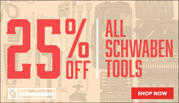 Holiday Sale - 25% Schwaben Parts