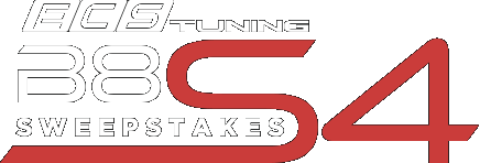 ECS Tuning presents the B8.5 S4 Sweepstakes!