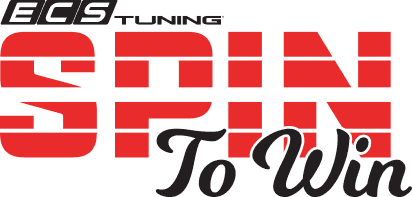 ECS Tuning 'Spin to Win' contest logo
