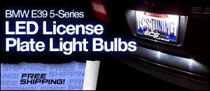 BMW E39 LED License Plate Light Set