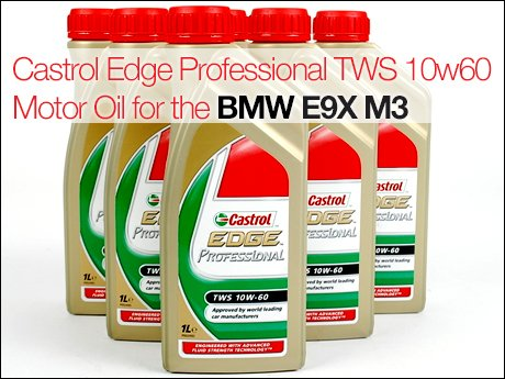 Ecs news bmw m castrol edge professional tws 10w60 motor oil for Bmw m3 motor oil