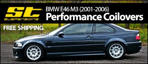 BMW E46 M3 ST Performance Coilovers