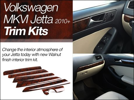Ecs news volkswagen mkvi jetta trim kits for Vw jetta interior replacement parts