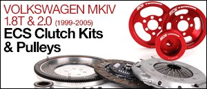 Volkswagen MKIV 1.8T/2.0 ECS Clutch Kits & Pulleys