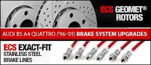 Audi B5 A4 Brake System Upgrades