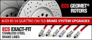 Audi B5 S4 Brake System Upgrades