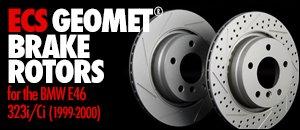 BMW E46 323i/Ci ECS GEOMET® Rotors
