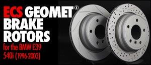 BMW E39 540i ECS GEOMET® Rotors