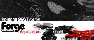 Porsche 996T Forge Motorsport Applications