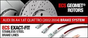 Audi B6 A4 1.8T Quattro Brake System Upgrades