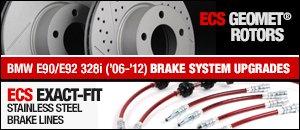 BMW E90/E92 328i Brake System Upgrades