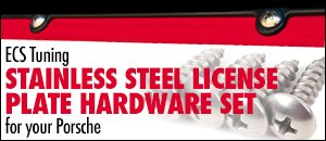 ECS Tuning Stainless Steel License Plate Hardware Sets