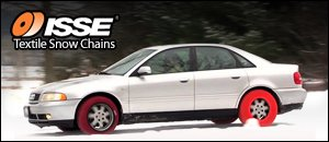 ISSE Textile Snow Chains for Audi