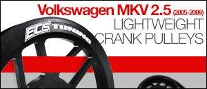 Volkswagen MKV 2.5 Lightweight Crank Pulleys