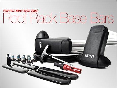 R50 R53 Mini Roof Rack Base Bars