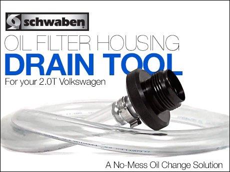 ecs news schwaben oil filter housing drain tool  fsi