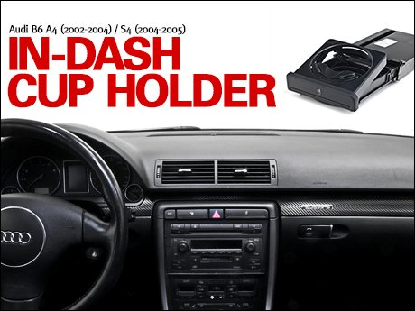 Ecs News Audi B6 A4 S4 In Dash Cup Holder
