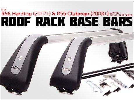 Barre tetto portabagagli Originali MINI R56 e MINI Clubman R55-82712149225