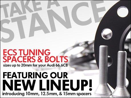 Ecs News Audi 666 Center Bore Wheel Spacers New Sizes