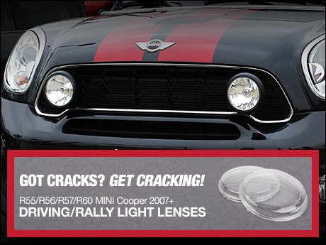 Mini Driving Rally Light Lens Sets