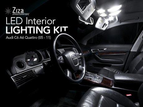 Ecs News Audi C6 A6 Led Interior Lighting