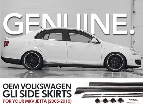 Ecs News Volkswagen Mkv Jetta Oem Gli Side Skirts