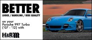 Porsche 997 Turbo H&R Suspension Components