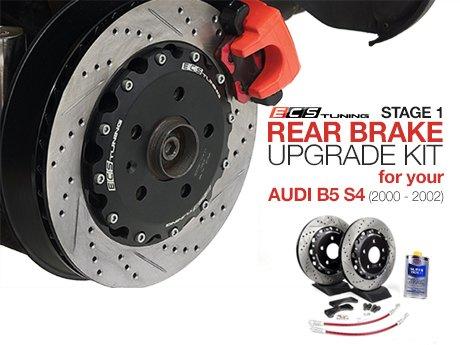 ecs news audi b5 s4 stage 1 rear brake upgrade kit. Black Bedroom Furniture Sets. Home Design Ideas