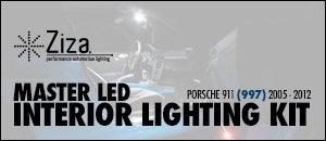 Porsche 997 Ziza Interior LED Lighting Kits