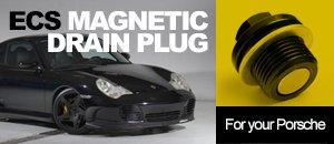 ECS Magnetic Drain Plug for Porsche