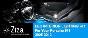 Ziza LED Interior Lighting Kit for Porsche 911 997