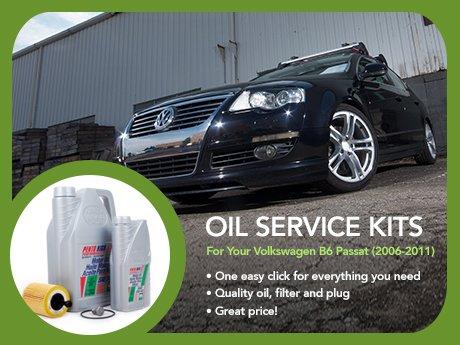ecs news oil service kits   vw  passat