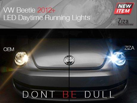 volkswagen beetle daytime running lights