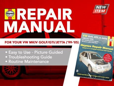 ecs news haynes repair manual vw mkiv golf jetta 4 cyl models rh ecstuning com 2012 VW Jetta Service Manual 2012 VW Jetta Service Manual