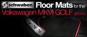 Volkswagen MKVI Golf Schwaben Floor Mats