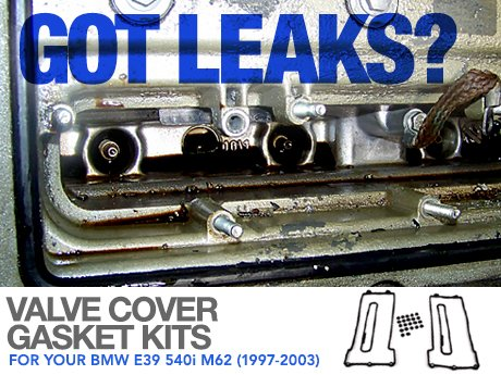 Ecs news valve cover gasket kits bmw e39 540i 97 03 valve cover gasket kits bmw e39 540i 97 03 solutioingenieria Gallery