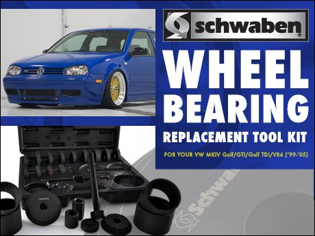 ECS News - VW MKIV Golf/GTI Wheel Bearing Replacement Tool Kit