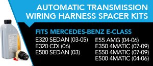 Auto Trans Wiring Harness Spacer Kits for M-Benz