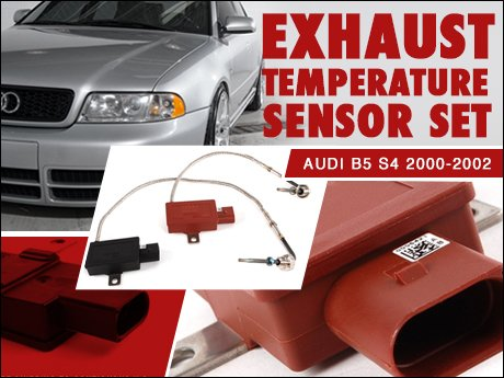 ecs news audi b5 s4 2 7t egt sensor set. Black Bedroom Furniture Sets. Home Design Ideas