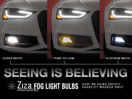 Ecs News Audi B8 A4s4 Ziza Fog Light Bulb Sets