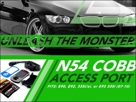 ECS News - BMW 335i N54 Cobb AccessPORT V3