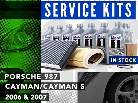 Ecs News Porsche 987 Caymancayman S Service Kits