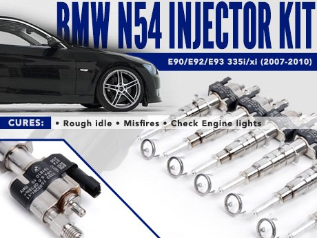 ECS News - BMW N54 Fuel Injector Kit